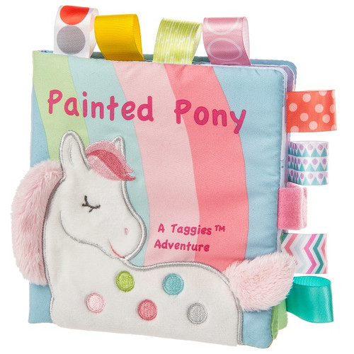 Taggies Painted Pony Soft Book by Mary Meyer