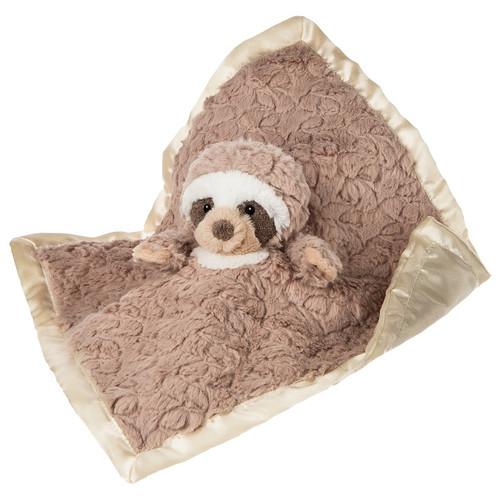Putty Nursery Sloth Blanket by Mary Meyer