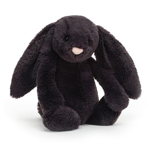 Bashful Inky Bunny by Jellycat
