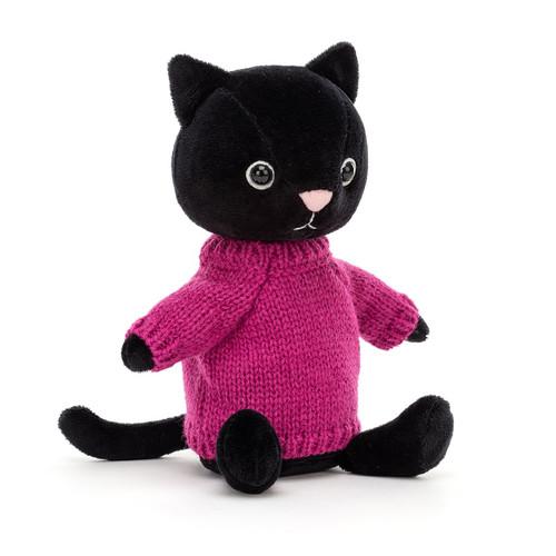 Knitten Kitten Fuchsia by Jellycat
