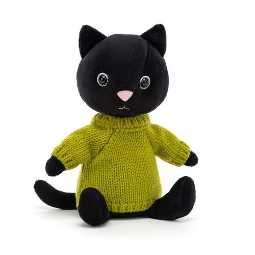 Knitten Kitten Lime by Jellycat