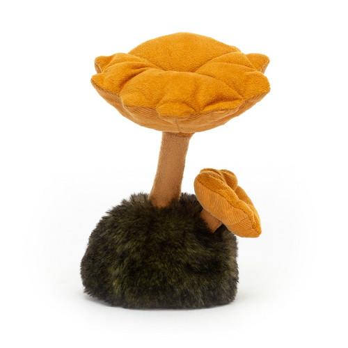 Wild Nature Chanterellel Mushroom by Jellycat