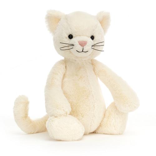 Bashful Cream Kitten by Jellycat