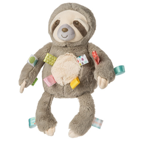 Taggies Molasses Sloth Soft Toy by Mary Meyer