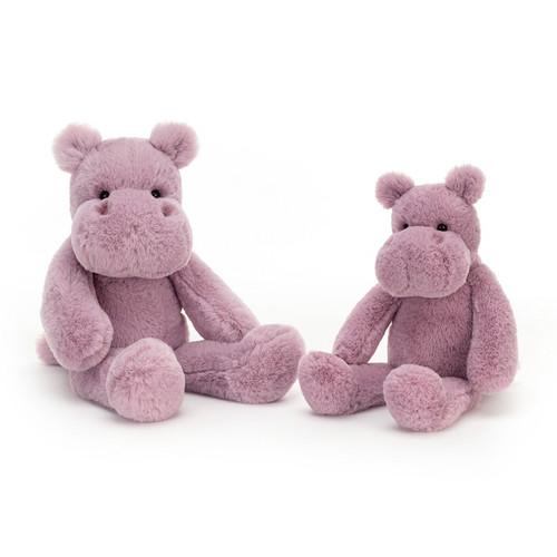 Snugglet Brooklyn Hippo by Jellycat
