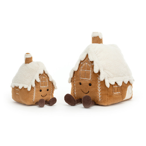 Amuseable Gingerbread House by Jellycat