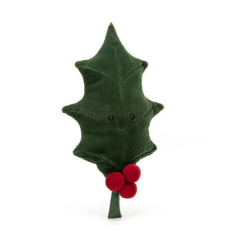 Woodland Holly Leaf by Jellycat