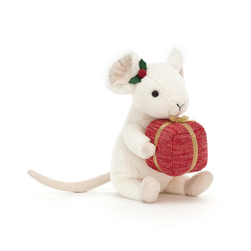 Merry Mouse Present by Jellycat