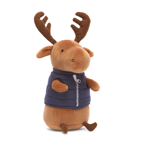 Campfire Critter Moose by Jellycat