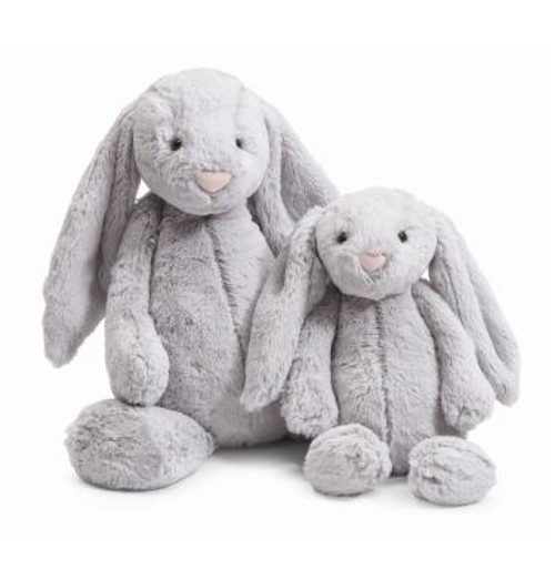 Jellycat Bashful Grey Bunny stuffed animal