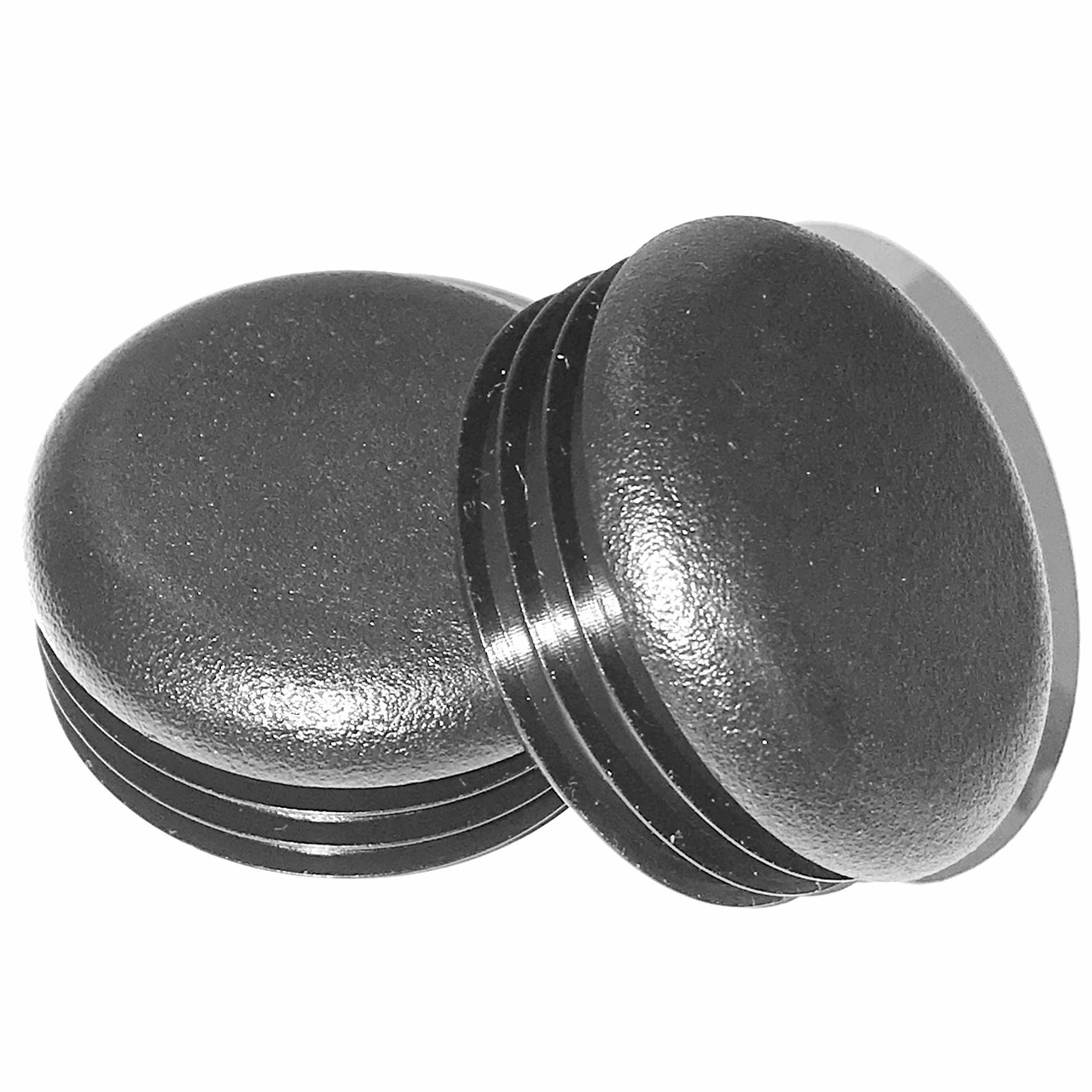"""1 Inch OD Tube Pipe Cover 14-20 G 8-1/"""" Round Tubing Plastic Hole Plug End Cap"""