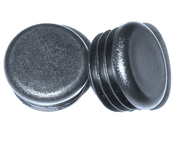 "RIBBED 14-20g BLACK. HOLE BUNGS//PLASTIC INSERT ROUND 100 No 3//4/"" DIA"