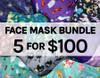 5 for $100 Face Masks