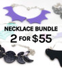 2 for $55 Edenki Necklaces