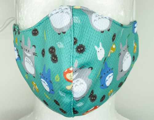 Totoro Face Mask