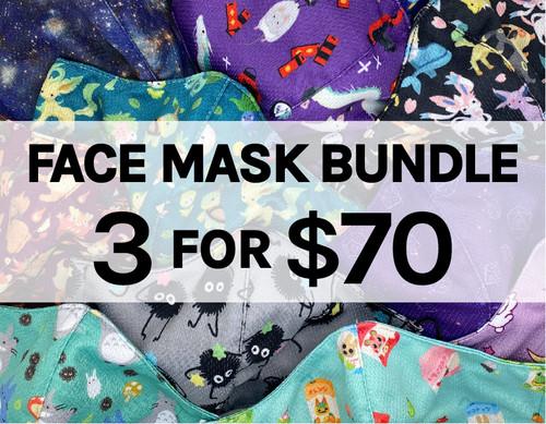 3 for $70 Face Masks
