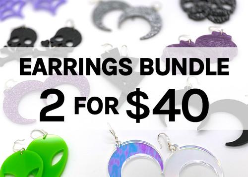 2 for $40 Edenki Earrings