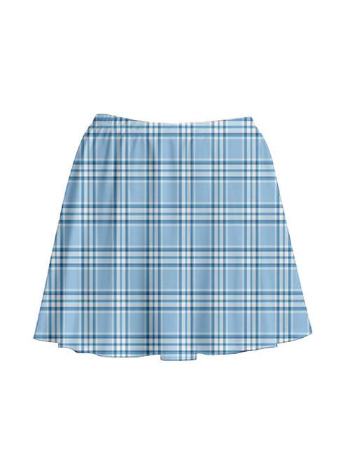 Pre-Order - Blue Babe Tartan Skirt
