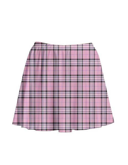 Pre-Order - Pretty in Pink Tartan Skirt