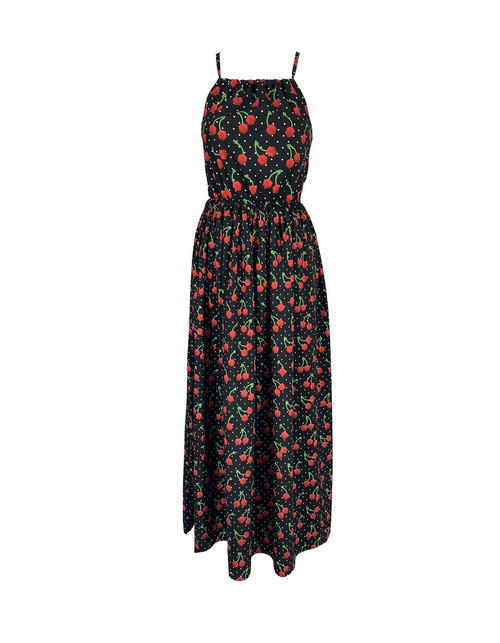 Cherry Dice Maxi Dress (Limited Release)