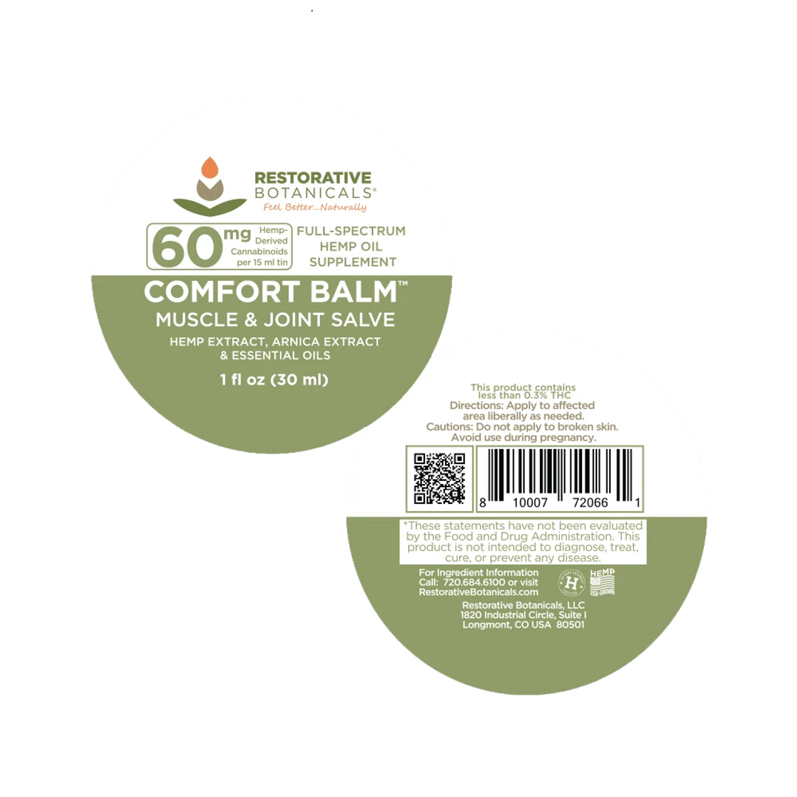 BALM label