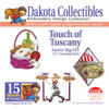 Dakota Collectibles Sewin' Big #35 Touch of Tuscany Embroidery Design CD
