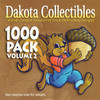 Dakota Collectibles 1000 Pack Volume 2 Embroidery Design CD