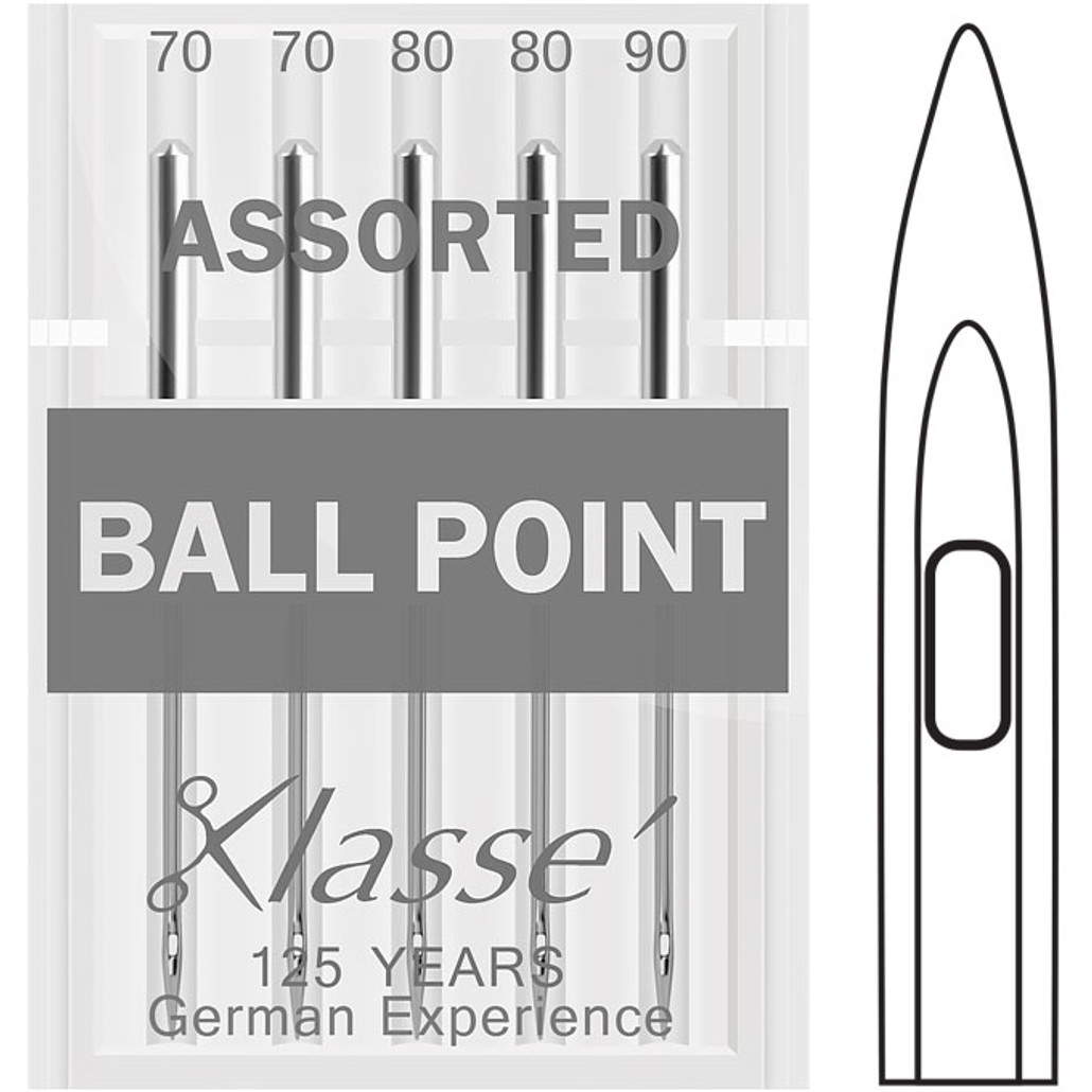 Klasse Ball Point Size Assorted Sewing Needles