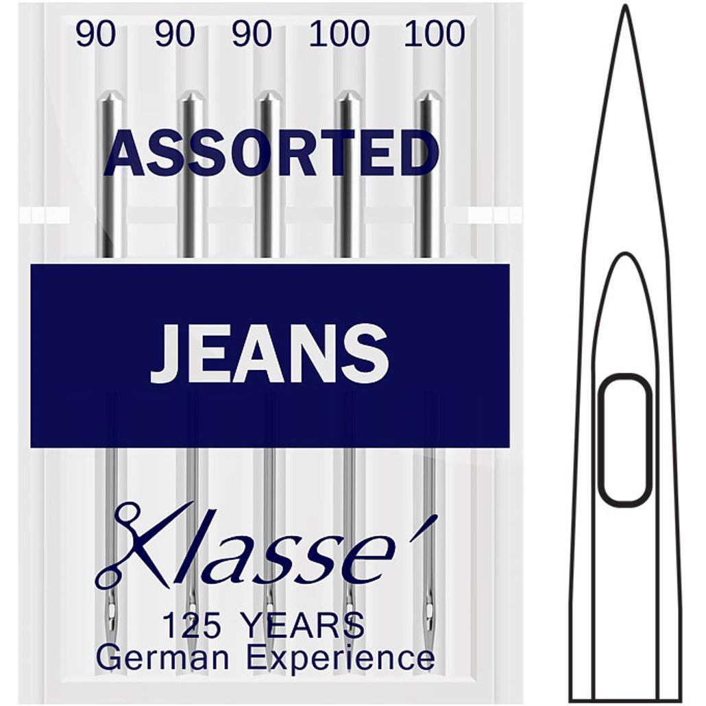 Klasse Jeans / Denim Assorted Sewing Needles