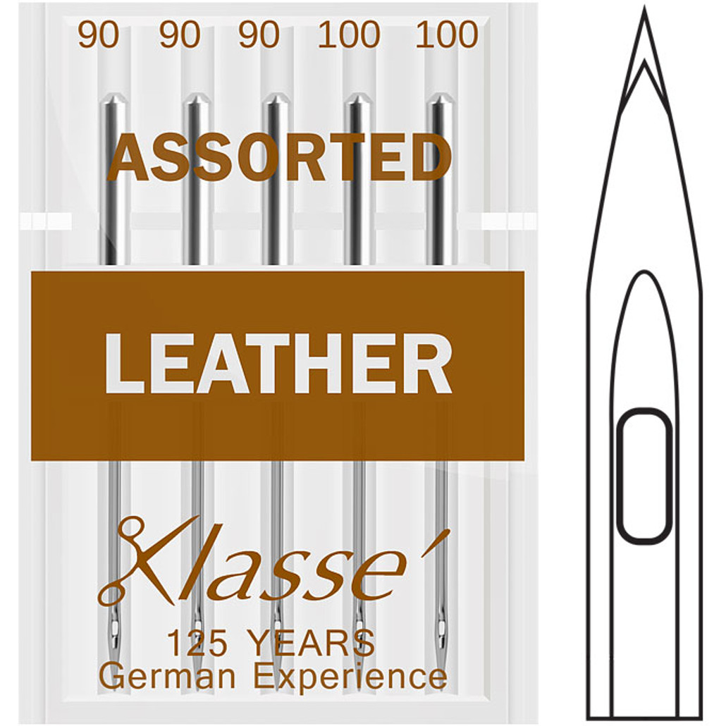 Klasse Leather Assorted Sewing Needles