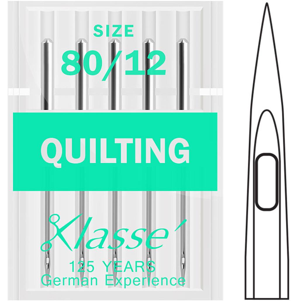 Klasse Quilting 80-12 Sewing Needles