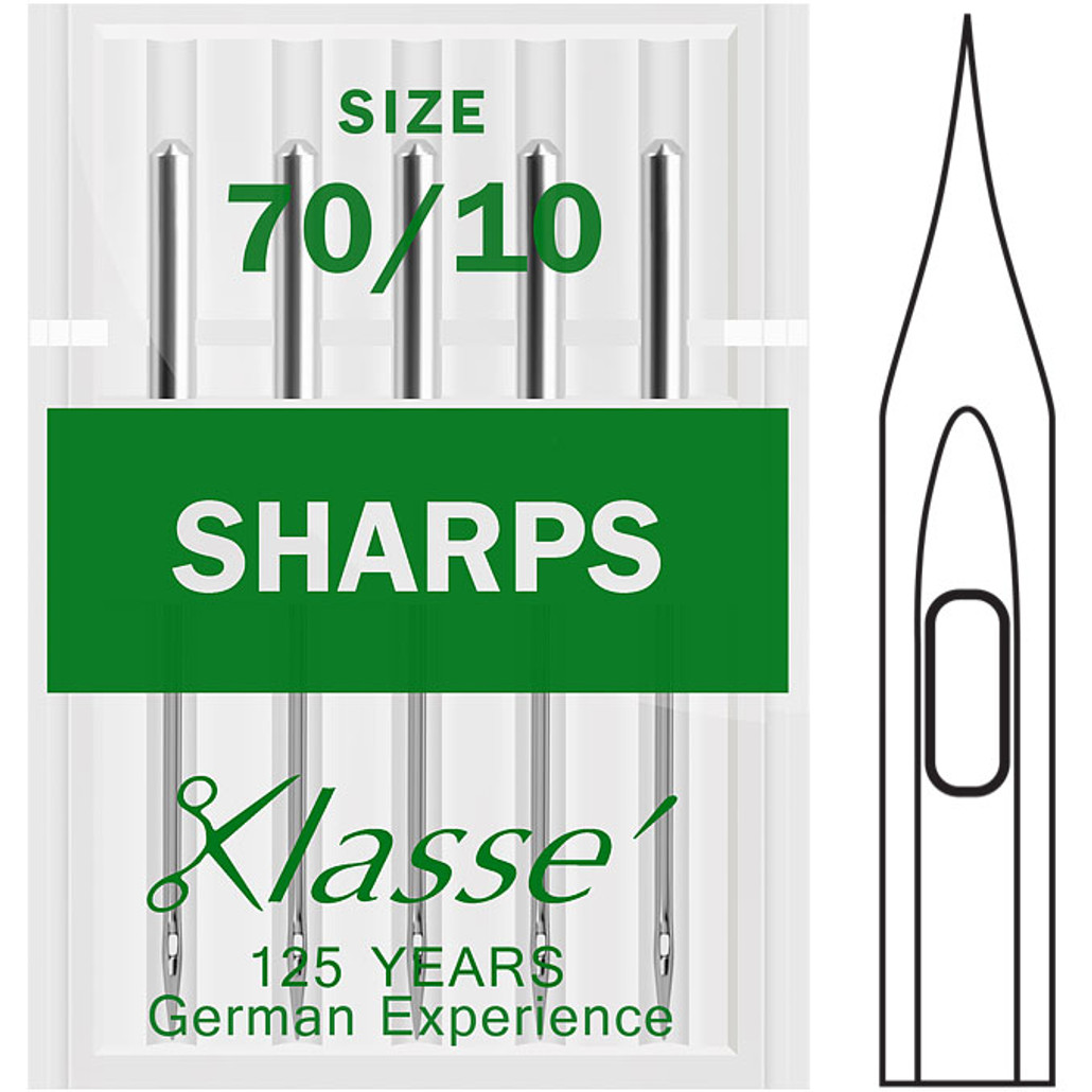 Klasse Sharps 70-10 Sewing Needles