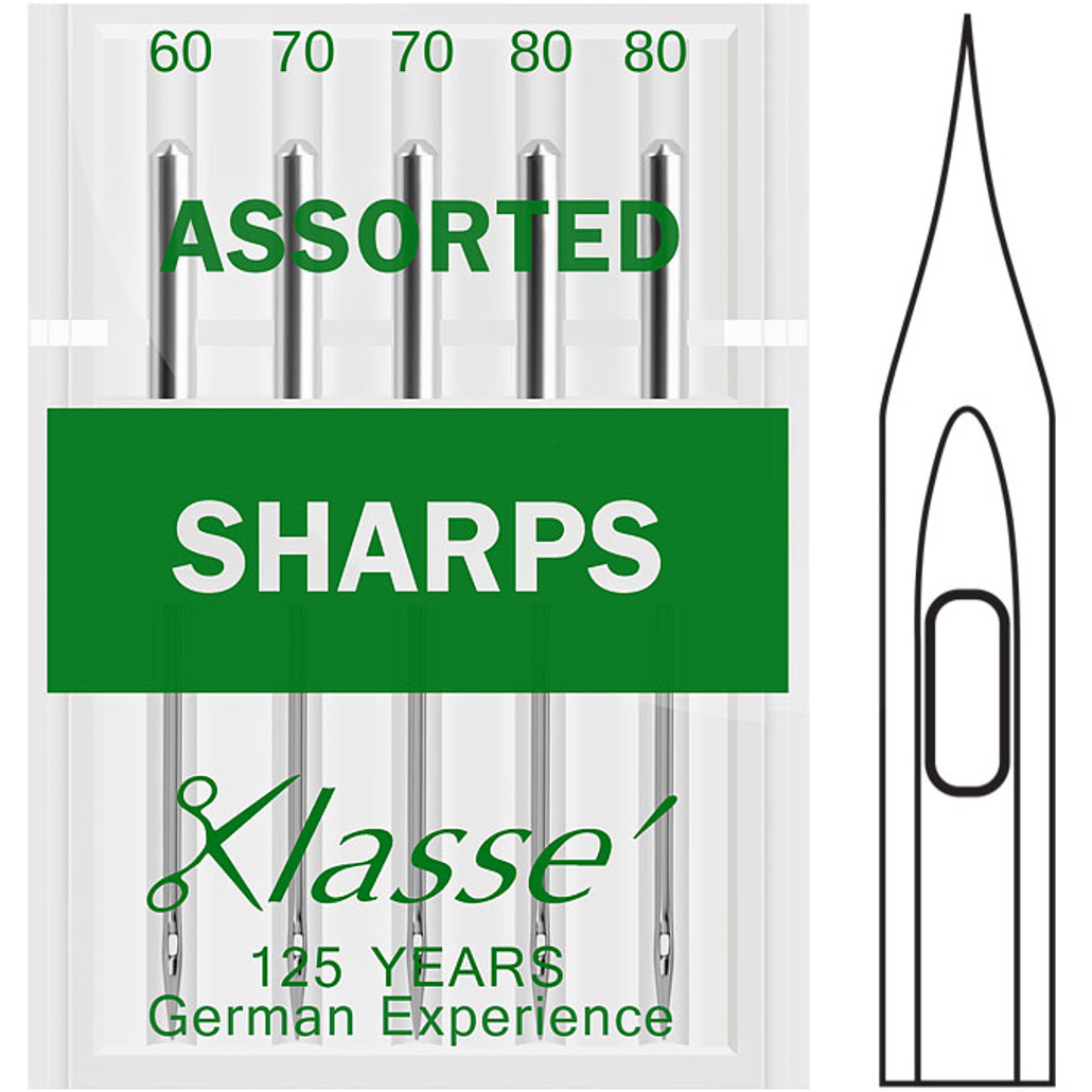 Klasse Sharps Assorted Sewing Needles