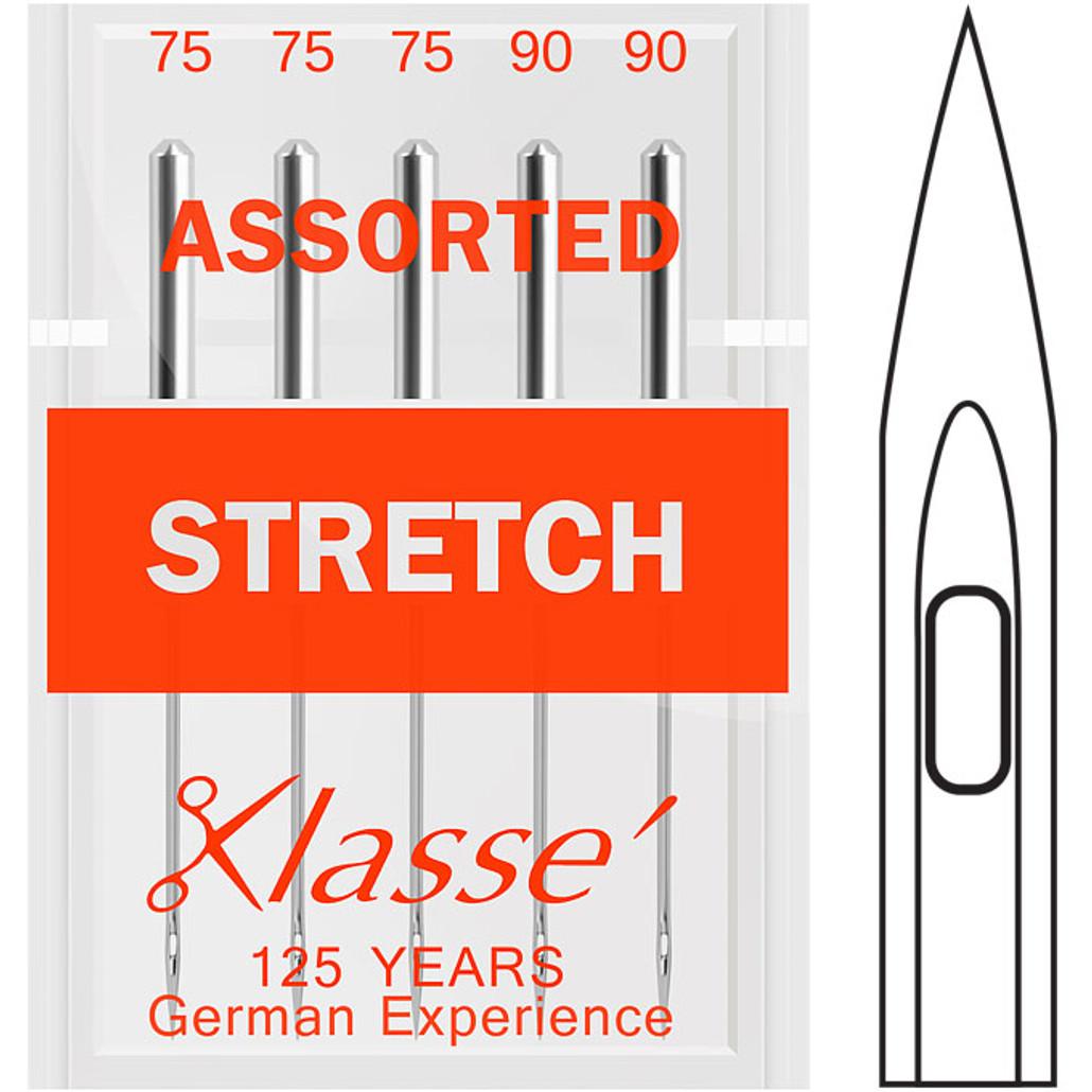 Klasse Stretch Assorted Sewing Needles