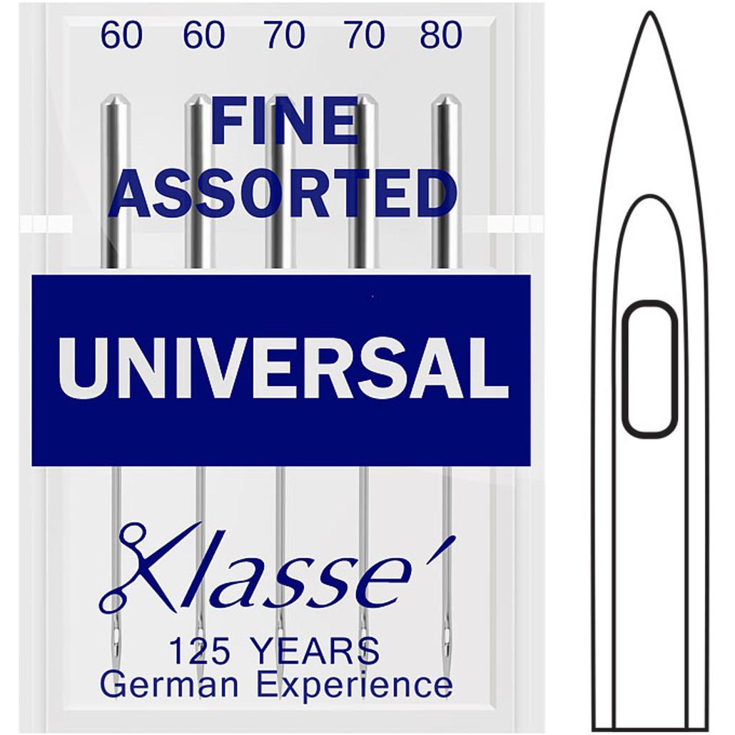 Klasse Universal Fine Assorted Sewing Needles