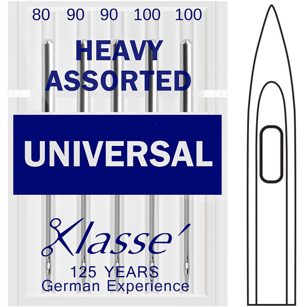 Klasse Universal Heavy Assorted Sewing Needles