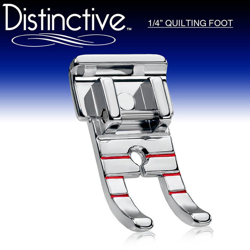 """Distinctive 1-4"""" Quilting/Sewing Machine Presser Foot w/ Free Shipping"""