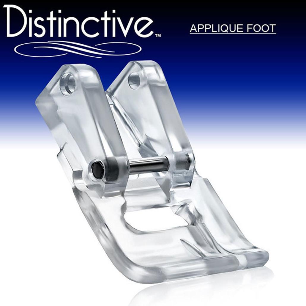 Distinctive Applique Sewing Machine Presser Foot w/ Free Shipping