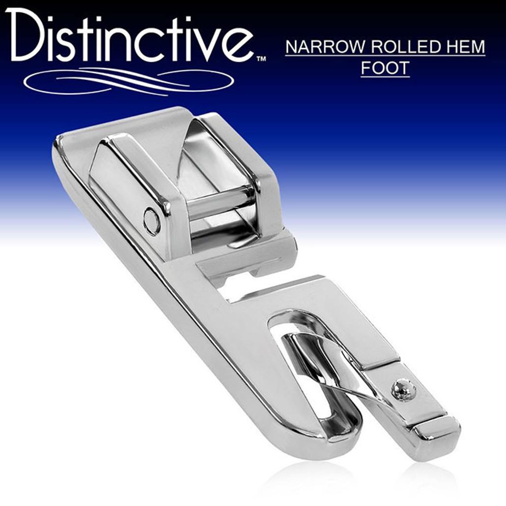 Distinctive Narrow Rolled Hem Sewing Machine Presser Foot w/ Free Shipping