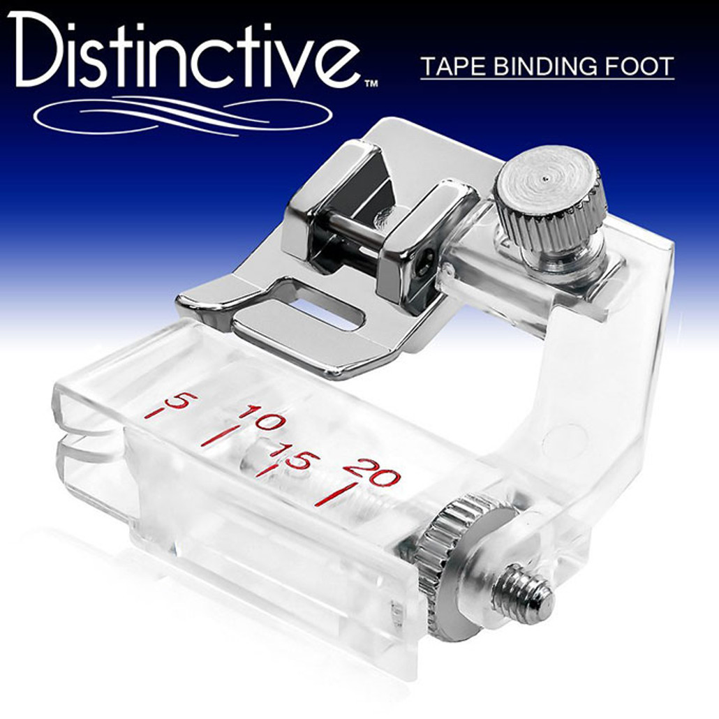 Distinctive Tape Binding Sewing Machine Presser Foot w/ Free Shipping