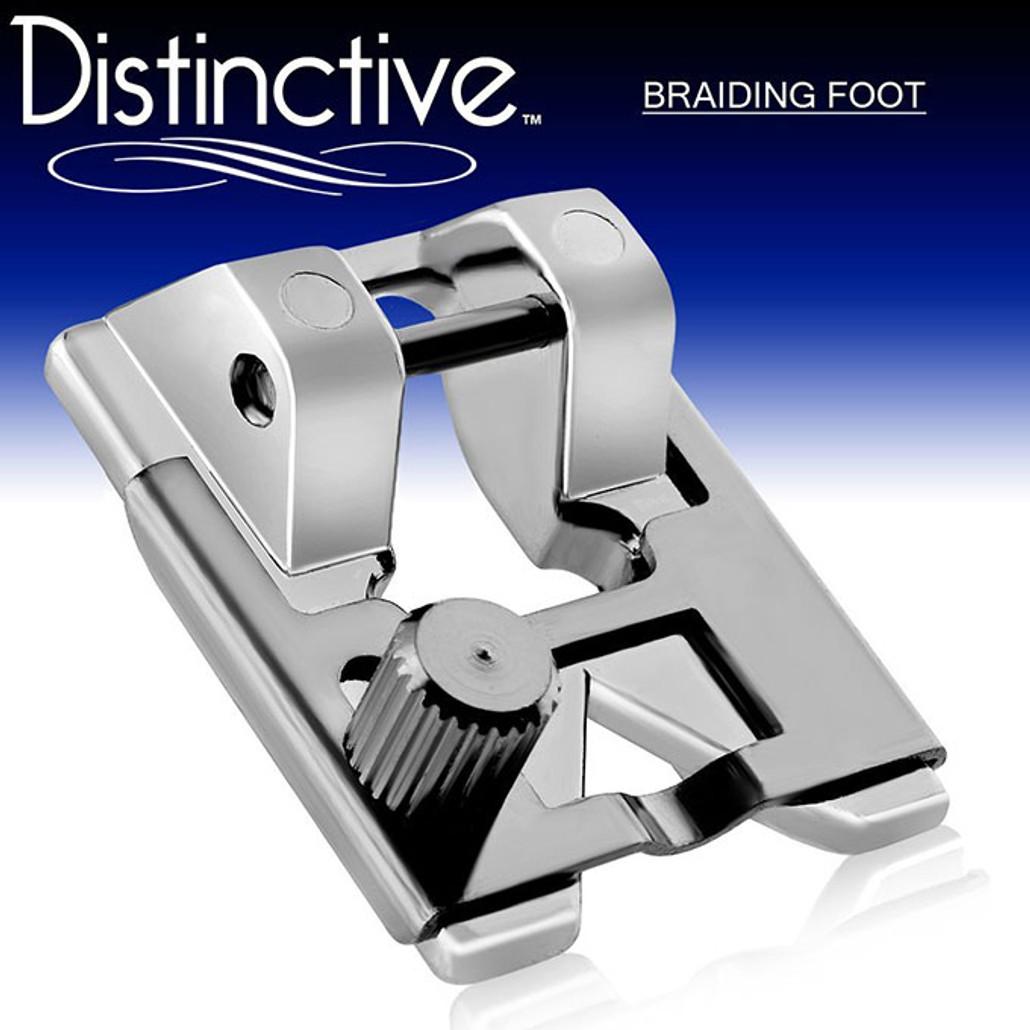 Distinctive Braiding Sewing Machine Presser Foot w/ Free Shipping