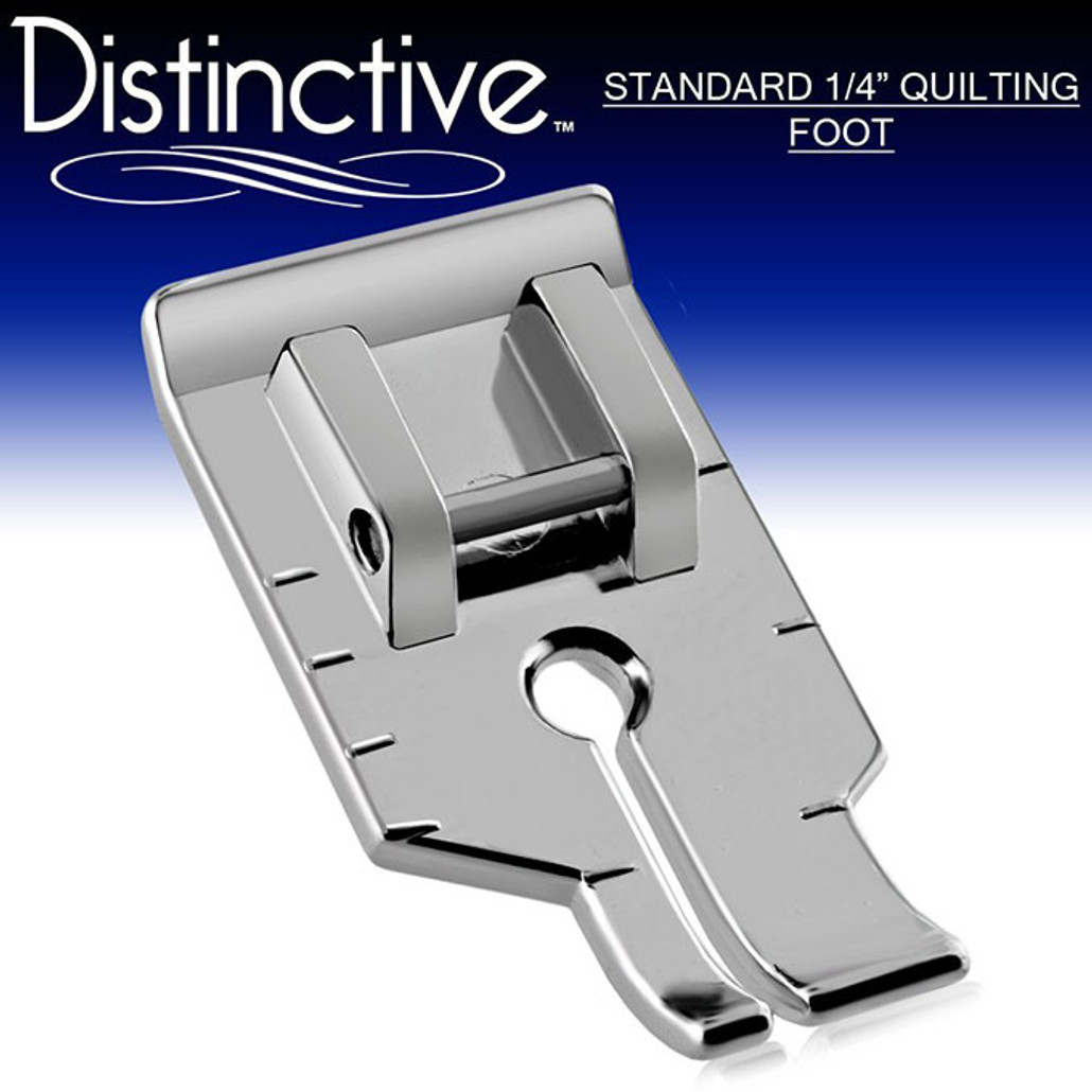 "Distinctive Standard 1-4"" Quilting/Sewing Machine Presser Foot w/ Free Shipping"