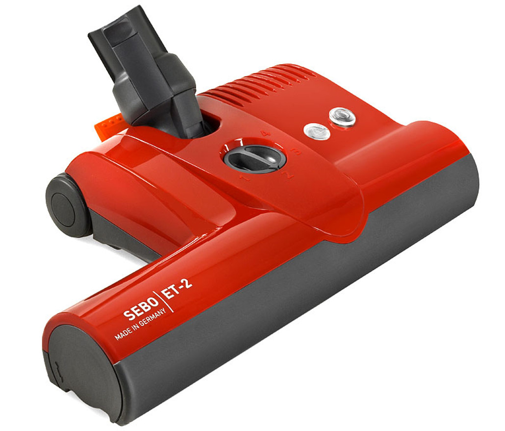 Sebo ET-2 Extra-Wide Power Head Vacuum Cleaner Attachment
