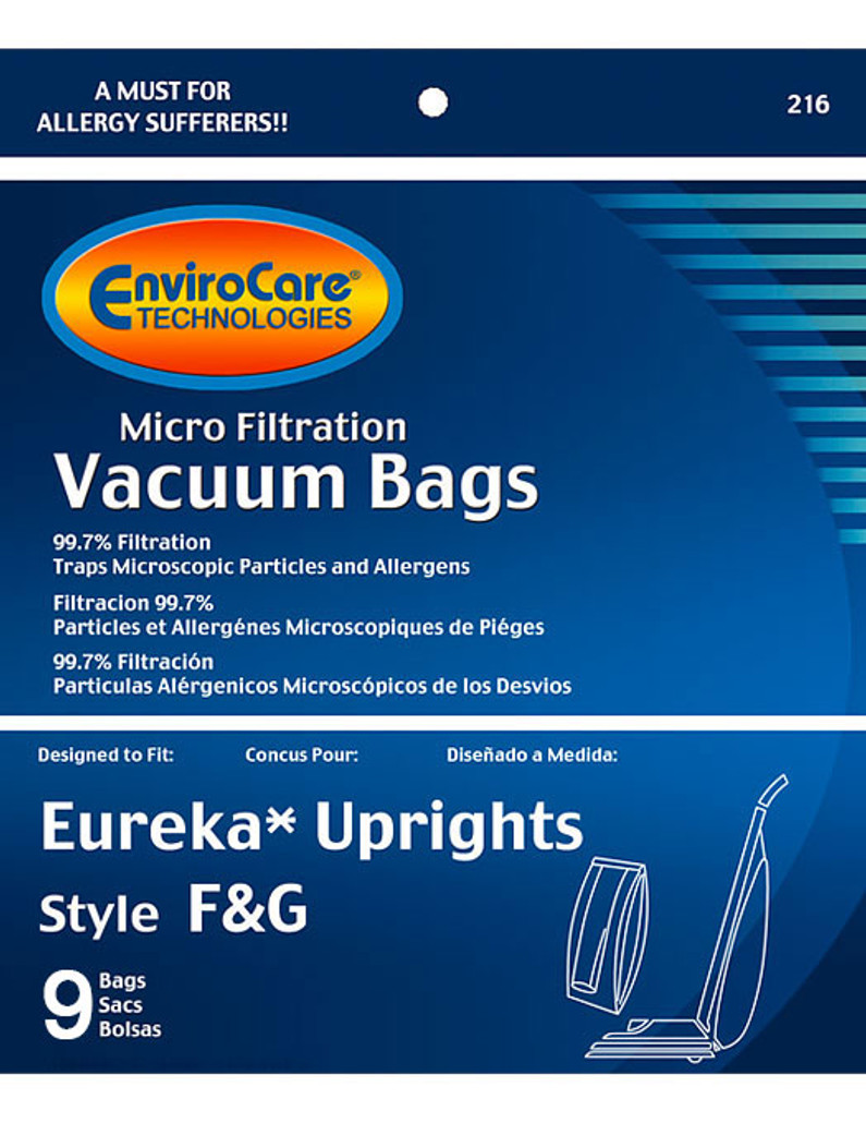 EnviroCare® Micro-Filtration White Westinghouse VIP 1020 Upright Vacuum Cleaner Bags