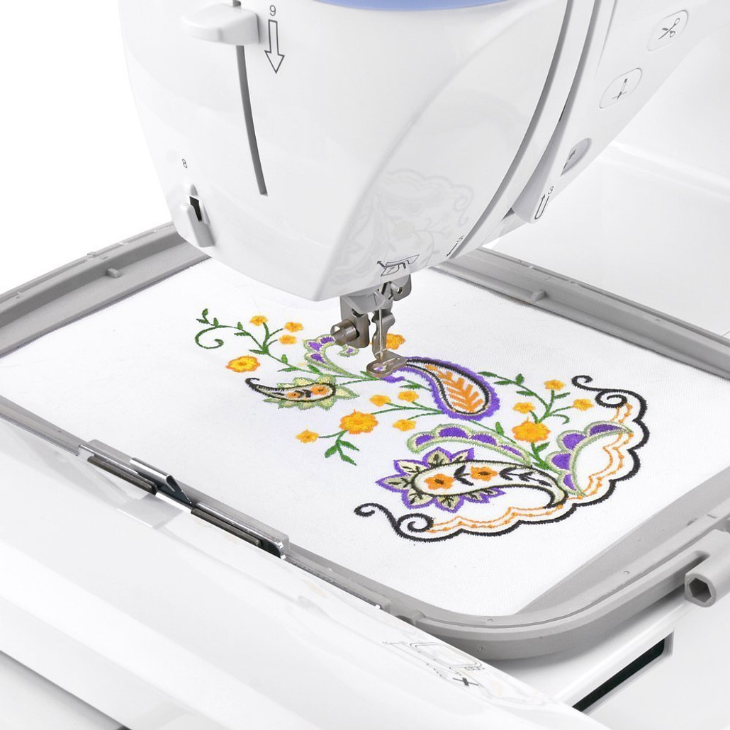 Brother Designio DZ820E Embroidery Machine / Optional Grand Slam Embroidery Package