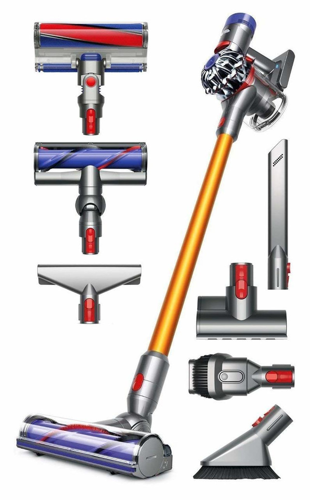 Dyson V8 Absolute Cordless Vacuum Cleaner w/ Free Genuine Mattress Tool ($29.99 Value)