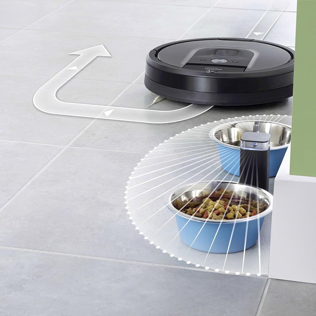 IRobot Roomba 960 Automatic Robotic Vacuum Cleaner w/ Free Genuine Replenishment Kit ($49.99 Value)