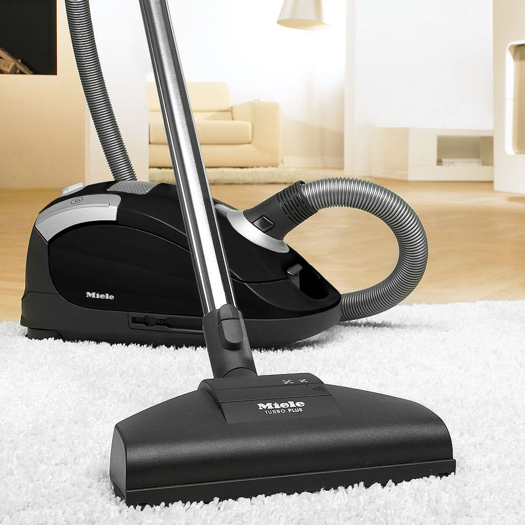 Miele Compact C1 Turbo Team Canister Vacuum Cleaner w/ FREE Overnight Delivery!