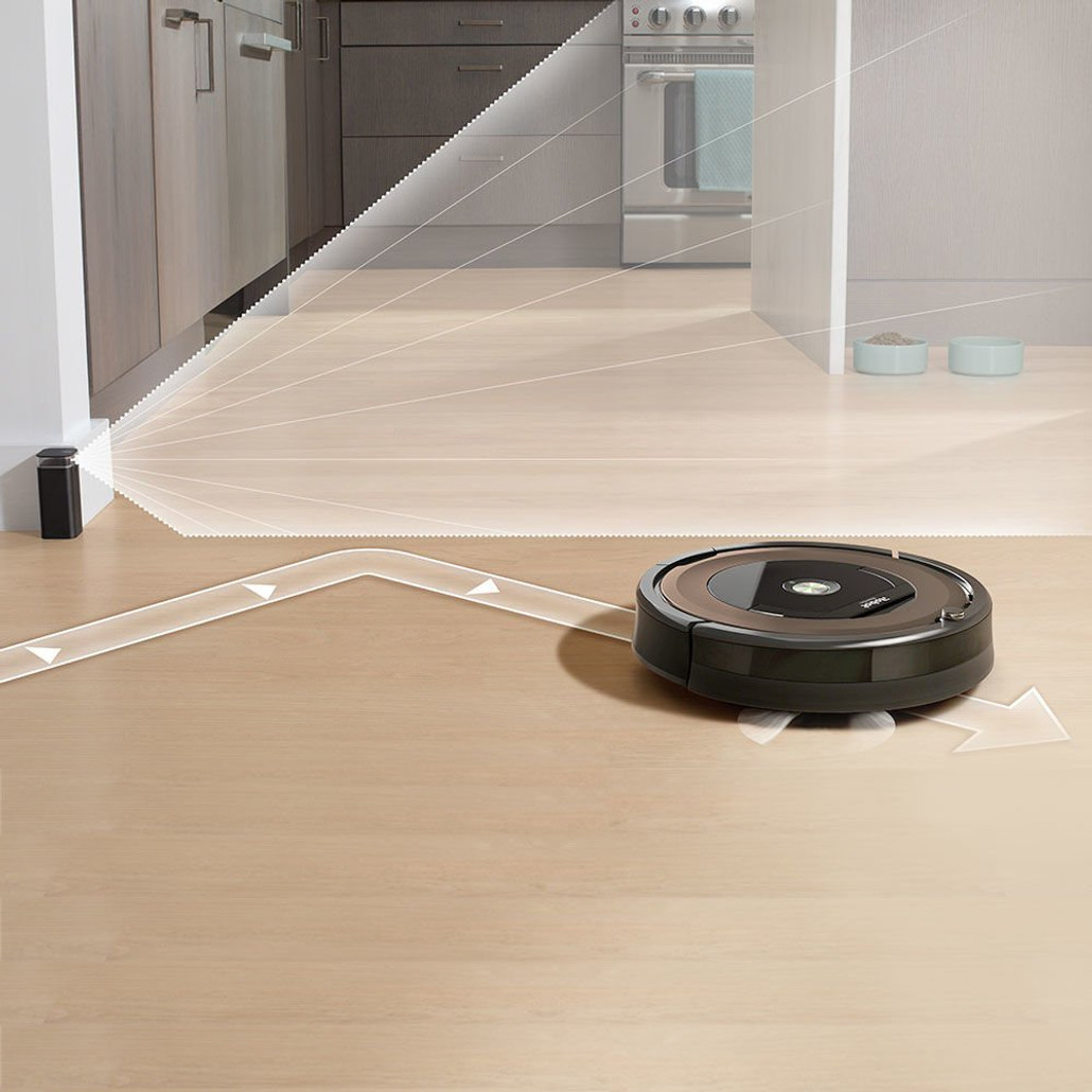 IRobot Roomba 890 Automatic Robotic Vacuum Cleaner w/ FREE Overnight Delivery!