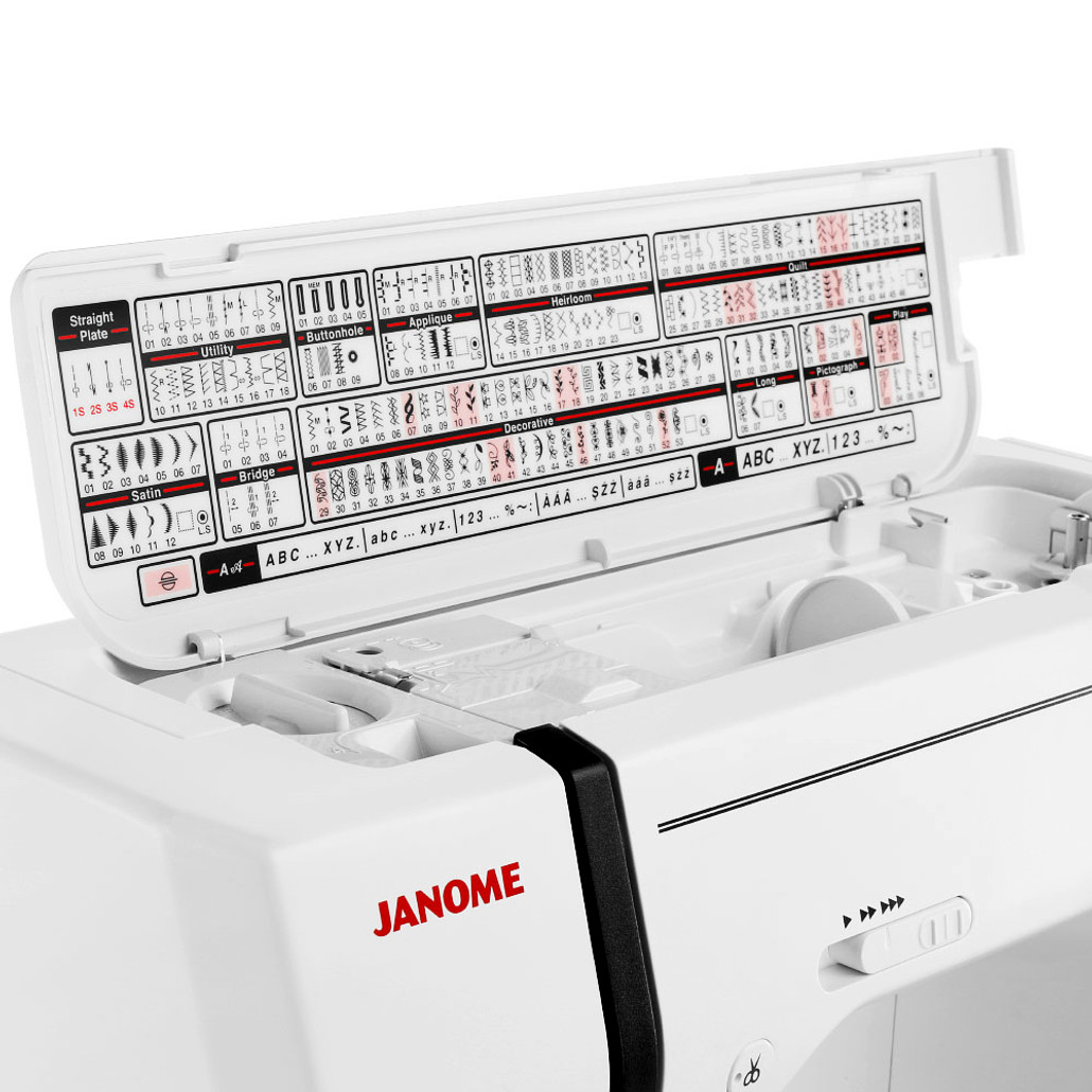 Janome Memory Craft 9900 Computerized Sewing and Embroidery Machine w/ FREE! 8-Piece V.I.P Reward Package and FREE! Next-Day Shipping